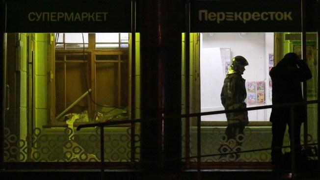 Putin: St. Petersburg Supermarket Explosion That Hurt 13 Was Terror Attack