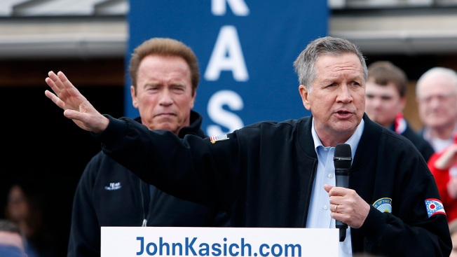 Kasich Joins Schwarzenegger in Political Map-Making Fight