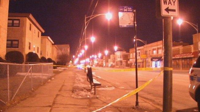 Woman Shot in Leg at Bus Stop