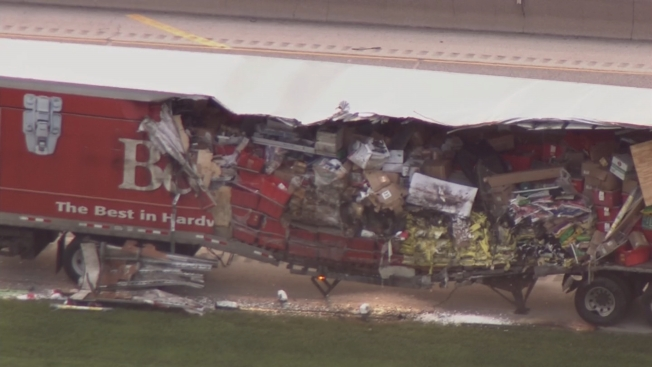 Crash on Tri-State Tollway Closes 2 Lanes Near Hinsdale Oasis