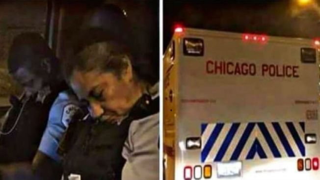 Sleeping Chicago Cops Facing Disciplinary Action After Social Media Posts