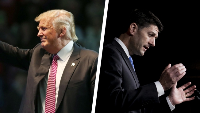 Donald Trump and Paul Ryan Could Not Be Further Apart