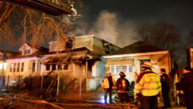 Woman Jumps From Window to Escape South Side Fire