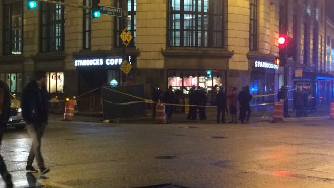 Two men and 12-yr-old boy shot near Chicago Starbucks