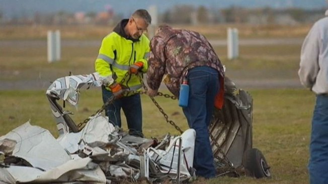 FAA Officials Probe Mid-Air Skydive Crash