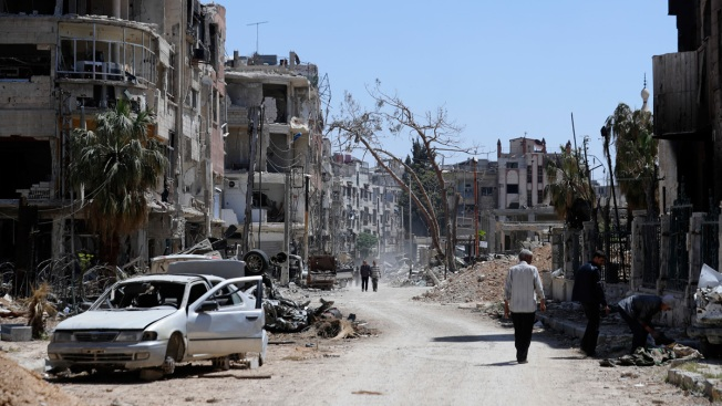 Syria Envoy Says UN Security Team Visits Alleged Attack Site
