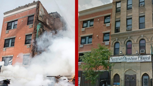 Shocking Before and After Images From NYC Explosion