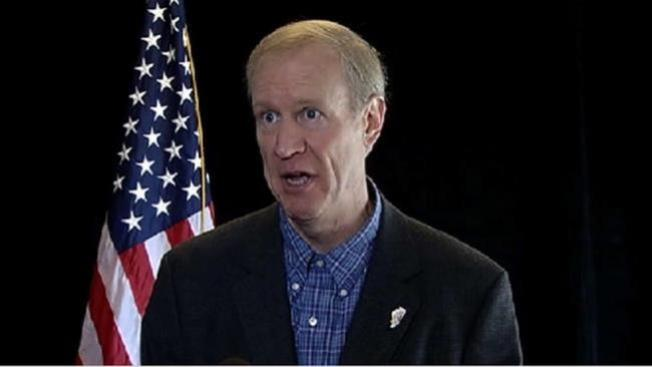 Rauner to Spend $20 Million on Pushing Agenda