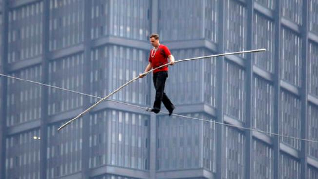 Nik Wallenda to Attempt His Longest Walk Ever at Wisconsin State Fair