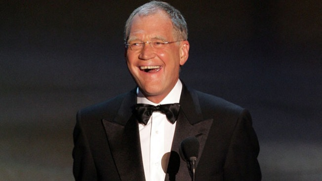 David Letterman Headlined Fundraiser for Rep. Duckworth Tuesday
