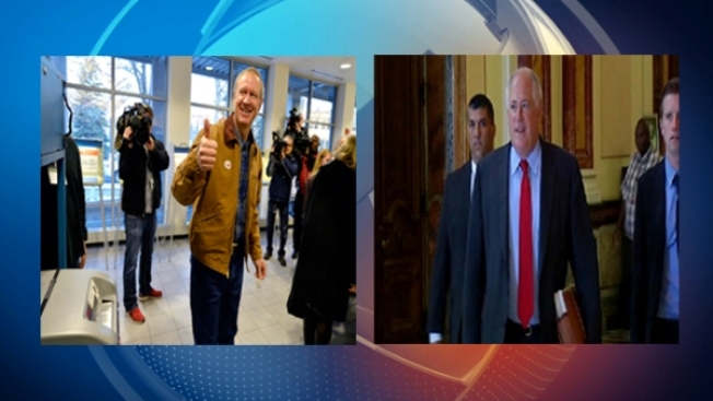 Election Day Countdown: Quinn and Rauner Tour Illinois