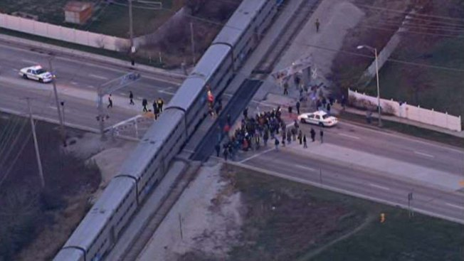 Person Struck, Killed by Metra Train in Tinley Park