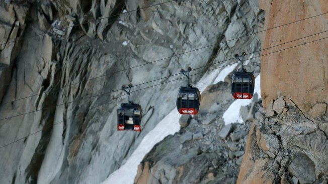 Tourists Rescued After Trapped in Alps Cable Car Overnight