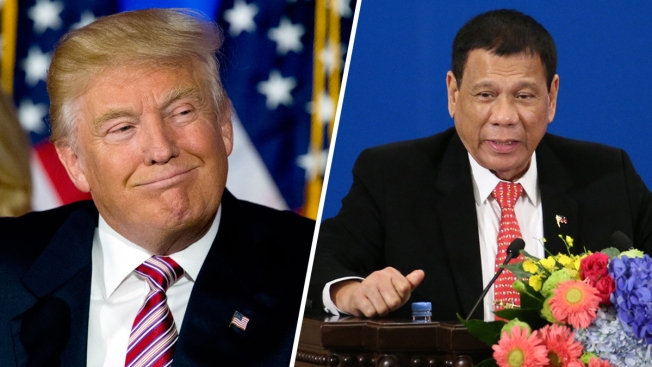 Trump Praises Philippine Leader Duterte for Deadly Drug Crackdown: Report