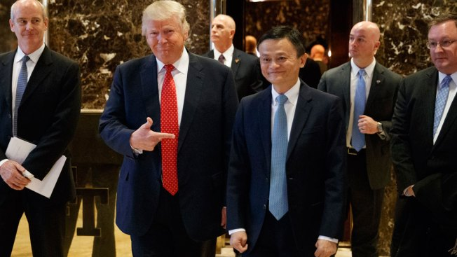 Alibaba promises Trump a million new jobs