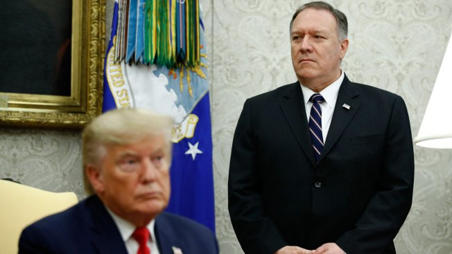 Trump's Impeachment Ire Turns on Pompeo Amid Diplomats' Starring Roles
