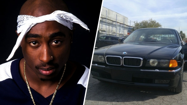 [NATL-LA]BMW in Which Tupac Was Fatally Shot is For Sale