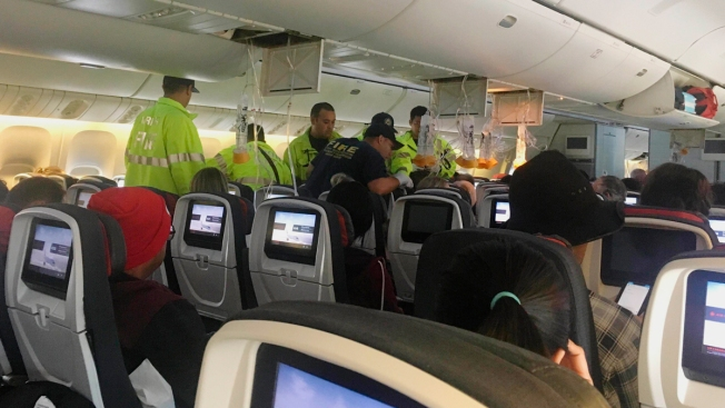 Passengers Violently Ejected From Seats on Turbulent Flight; 37 Hurt