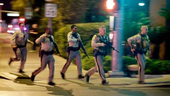 Footage Shows Vegas Police Helping People Dodge Gunfire During Concert Massacre