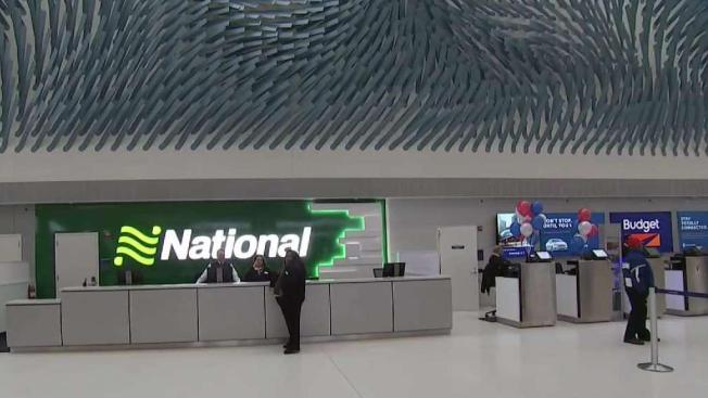 841m Parking Rental Car Center Opens At O Hare Airport Nbc Chicago