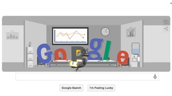 Google Doodle Takes on Office Workers Sneaking Peeks at World Cup Games