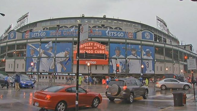 Indians-Cubs Game Rained Out