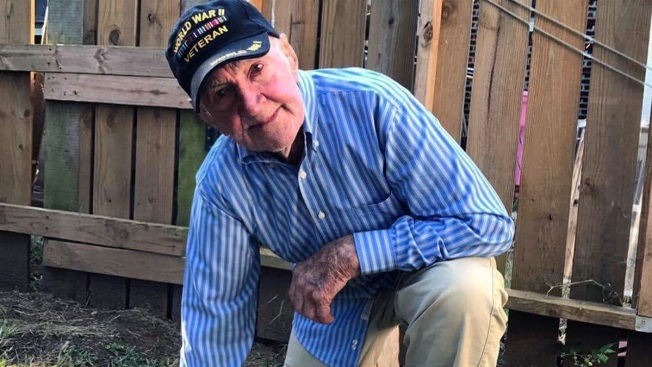 WWII Vet, 97, Takes a Knee to Support NFL Protests