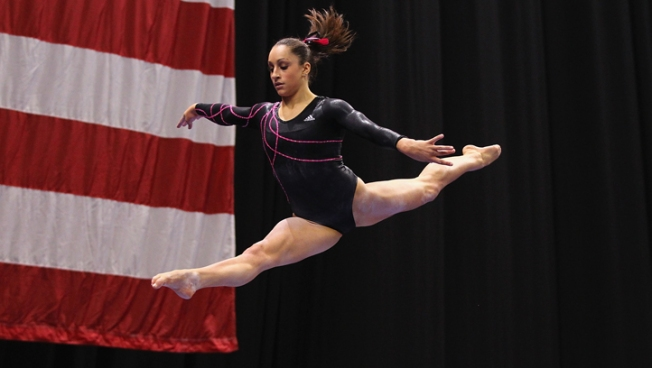 Wieber Wins 2nd U.S. Title