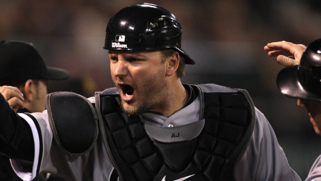 A.J. Pierzynski Punches His Ticket Out of Chicago