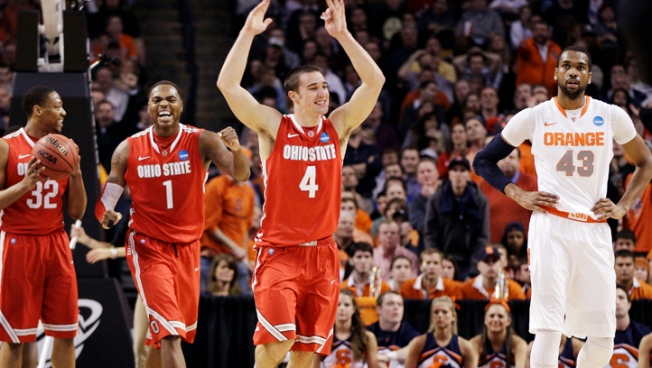 Ohio State Beats Syracuse 77-70 to Reach Final 4