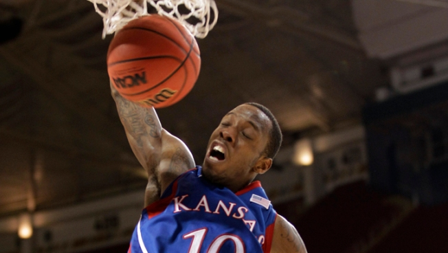 Taylor's 22 Lead KU to 80-67 Win Over Carolina