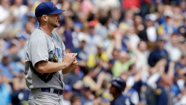 Volstad Still Winless as Cubs Fall to Brewers