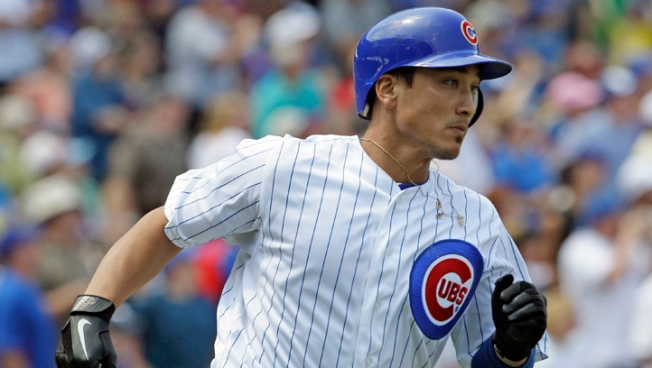 Barney, Garza Lead Cubs Over Diamondbacks