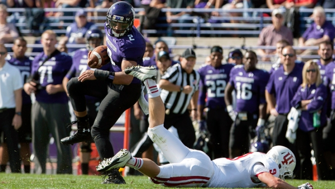 Colter Leads Northwestern Past Indiana