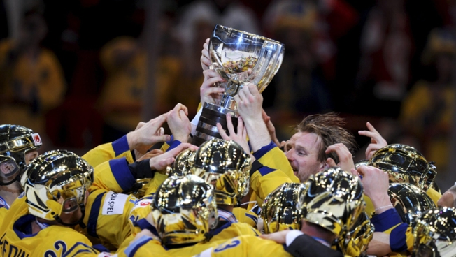 Sweden Wins World Hockey Title