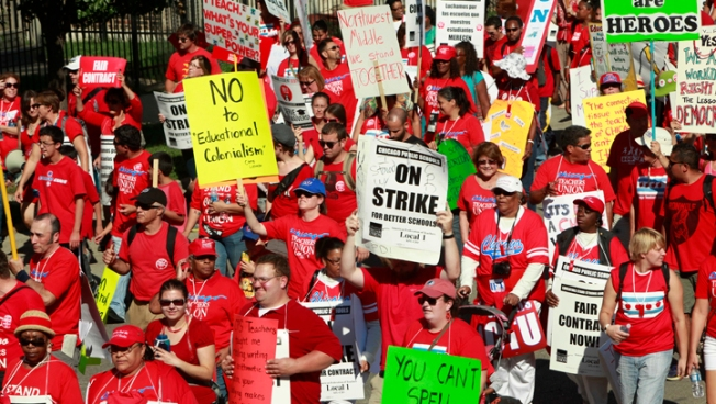 City to File Injunction to End Teacher Strike