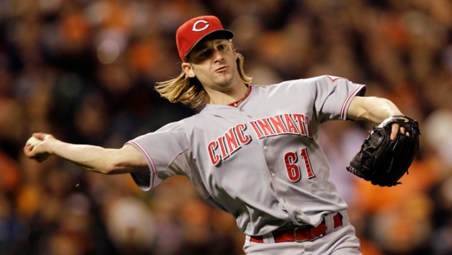 Arroyo's Gem Puts Reds up 2-0 on Giants in NLDS