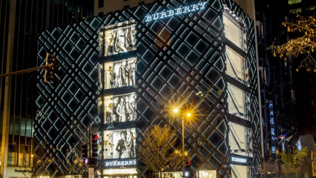 Burberry Unveils Chicago Flagship Store
