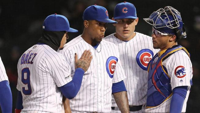sports shoes d5fad 05072 Pedro Strop Placed on Injured List With Strained Hamstring ...