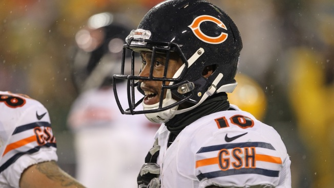 Marquess Wilson Ruled Out for Bears Sunday vs. 49'ers