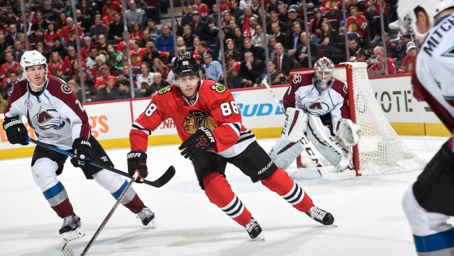 Blackhawks Blanked by Avalanche as Kane's Streak Ends