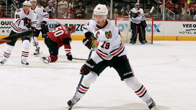 Blackhawks Win Wild West Shootout With Coyotes