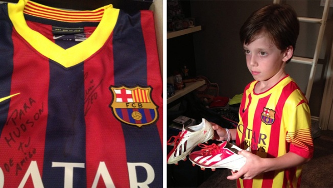 Soccer Star Sends Jersey to Disgruntled Young Fan