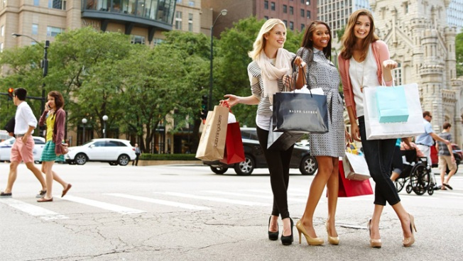 Fashionistas Prep For Mag Mile Shopping Fest