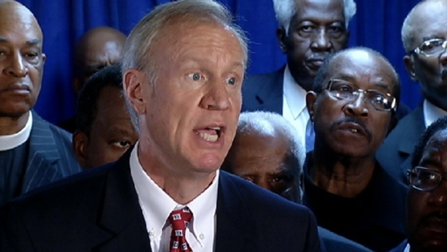 Opinion: Facing Trouble, Rauner Campaign Finds the Gutter