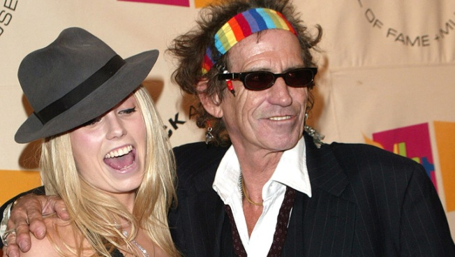 Keith Richards' Daughter Spins In Chicago This Week