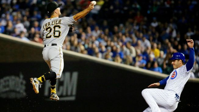 Taillon Outpitches Hamels, Pittsburgh Pirates Beat Chicago Cubs 5-1