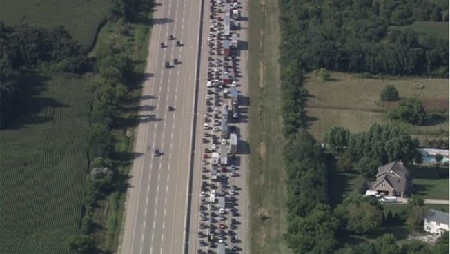 I-94 Crash Snarls Traffic Near Wisc. State Line