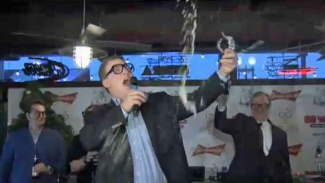 Singer Shattering Beer Glasses Was a Stunt