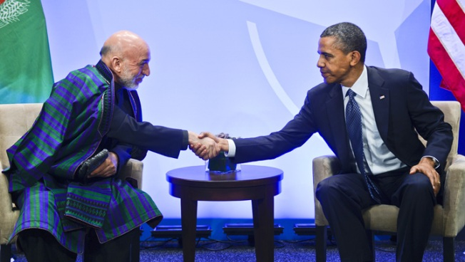 Obama Confident Afghans Can Take Security Lead